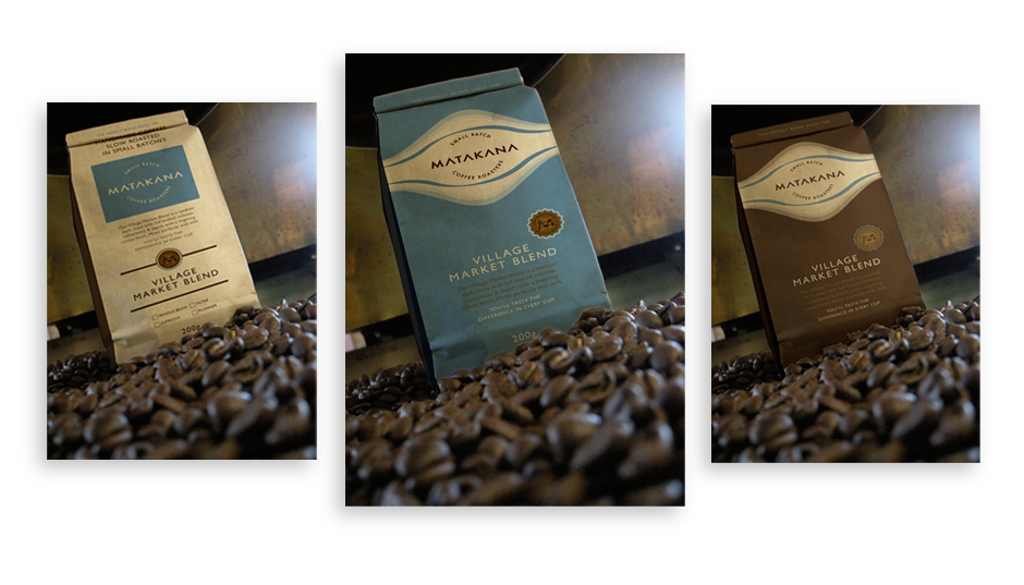 Coffee Packaging for Matakana Coffee Roasters
